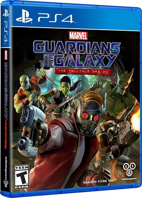 Marvel - Guardians of the Galaxy: The Telltale Series (PS4)
