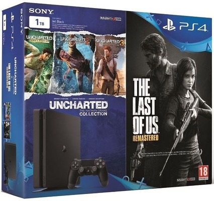 Sony PlayStation 4 - PS4 1 TB + Uncharted Collection + The Last Of Us Hediyeli