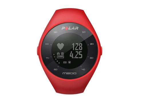 Polar M200 Koşu Saati Kırmızı KONNBZPOL293