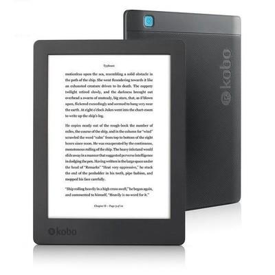YENİ Kobo Aura H2O E-kitap Okuma Cihazı Edition 2 Black