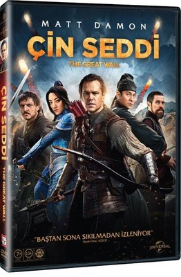 The Great Wall-Çin Seddi, Dvd