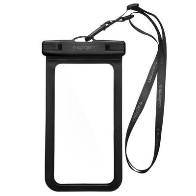 Spigen Universal Waterproof Su Geçirmez Kılıf Black