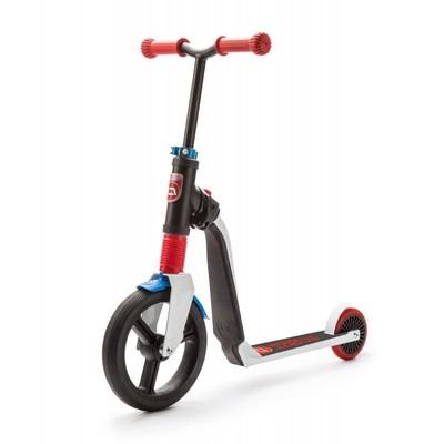 Scoot And Ride Beyaz-Kırmızı-Mavi Renk Highfreak Ayarlanabilir Scooter