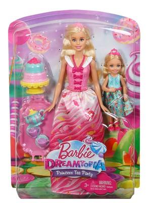 Barbie-Dreamtopia Barbie ve Chelsea ' nin Çay Partisi Seti FDJ19