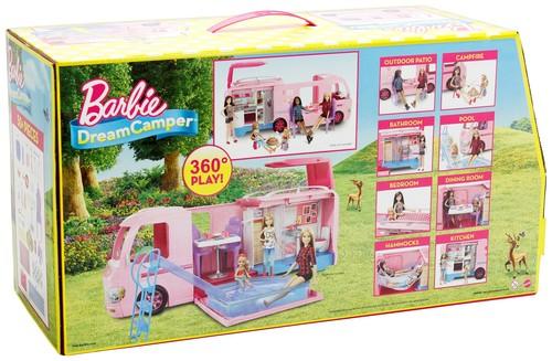 Barbie-Barbie'nin Muhteşem Karavanı FBR34