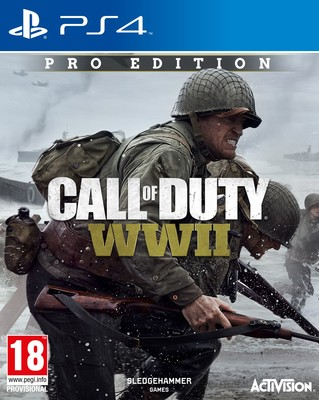 PS4 CALL OF DUTY WWII PRO EDITION