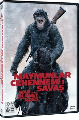 Maymunlar Cehennemi Savaş - War For The Planet Of The Apes (Dvd)