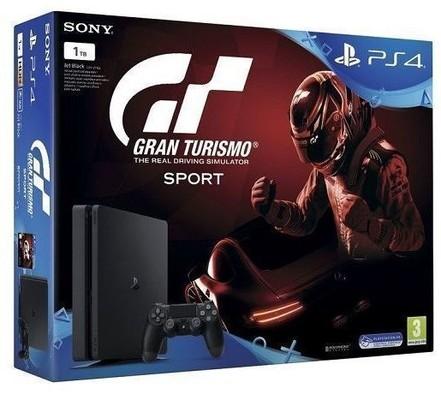 PS4 1TB Konsol & Gran Turismo Sport Oyun