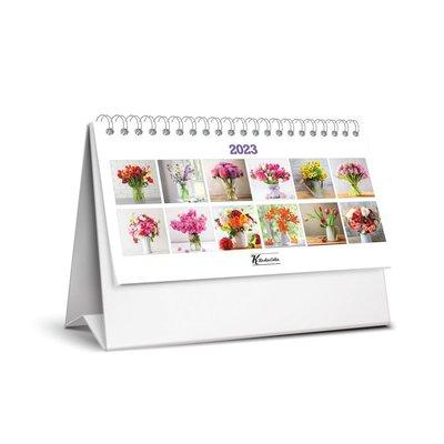 Keskin Color Çiçek Üçgen 2018 Masa Takvimi