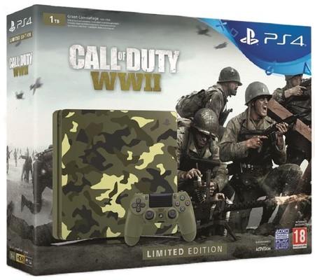 PS4 1 TB Kamuflaj Konsol & Call of Duty WW2