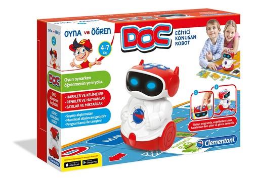 Clementoni-Eğtici Konuşan Robot Doc 64309