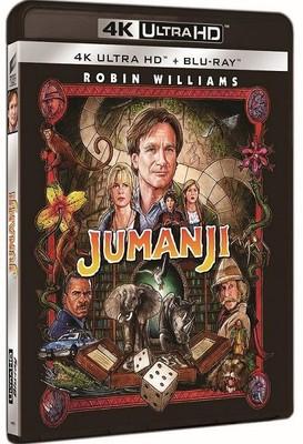Jumanjı 4K Uhd + Blu-ray