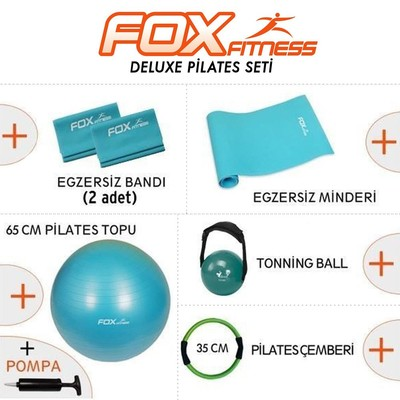 Fox Fitness Pilates Delux Set, N/A