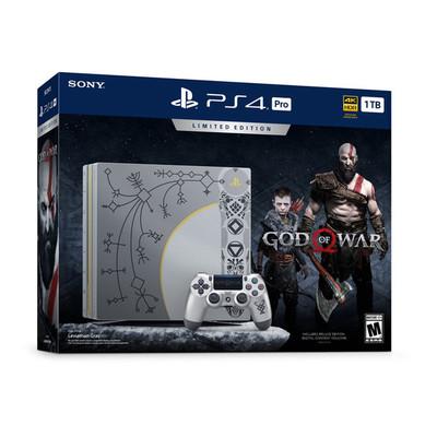 PS4 Pro 1TB B GOW LE + GOW Std+