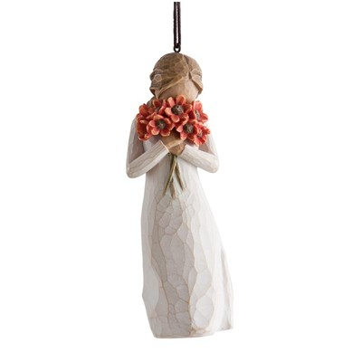 Willow Tree Biblo Surrounded By Love Ornament