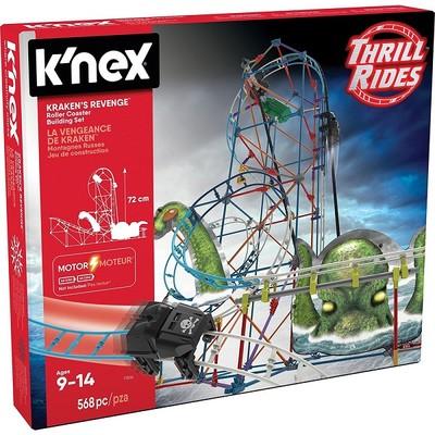 K'nex Krakens Revenge Roller Coaster Motorlu Set