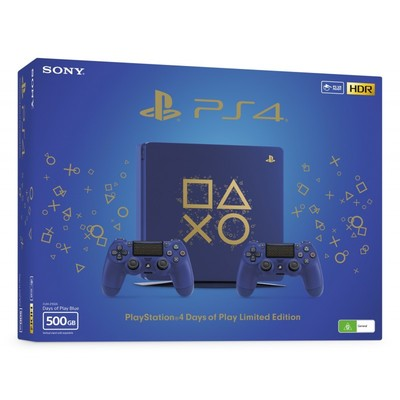 PS4 500GB E + DS4 (Days of Play)