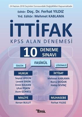 İttifak KPSS Alan Denemesi-10 Deneme Sınavı