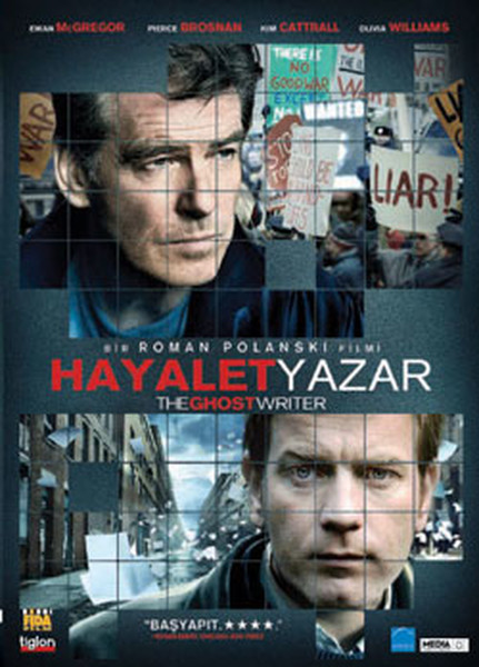 The Ghost Writer Hayalet Yazar D R K Lt R Sanat Ve