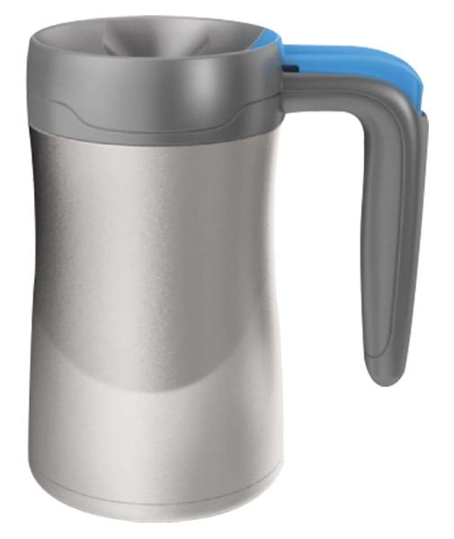 Contigo Autoseal Handled Desk Mug Stainless Steel Vacuum İnsulated Mugs Fulton Paslanmaz Çelik Gri M