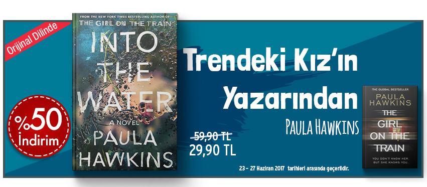 Into the Water: A Novel %50 İndirim