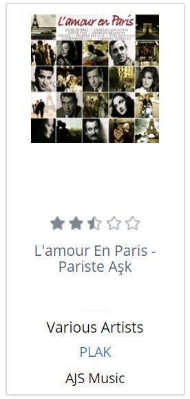 L'amour En Paris - Pariste Ask