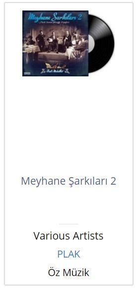 Meyhane Sarkilari 2