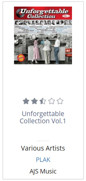Unforgettable Collection Vol.1