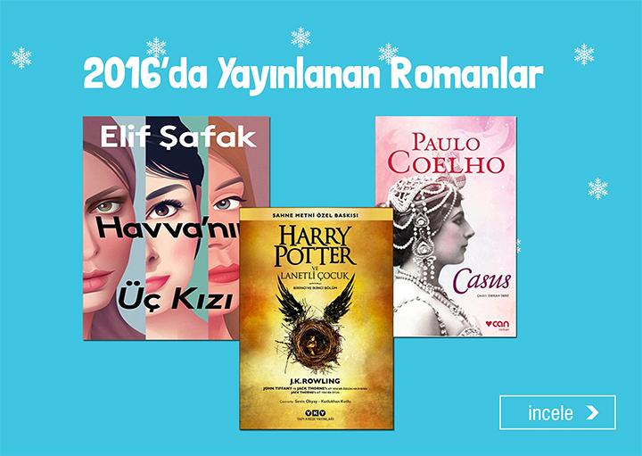 2016'da Yayınlanan Romanlar