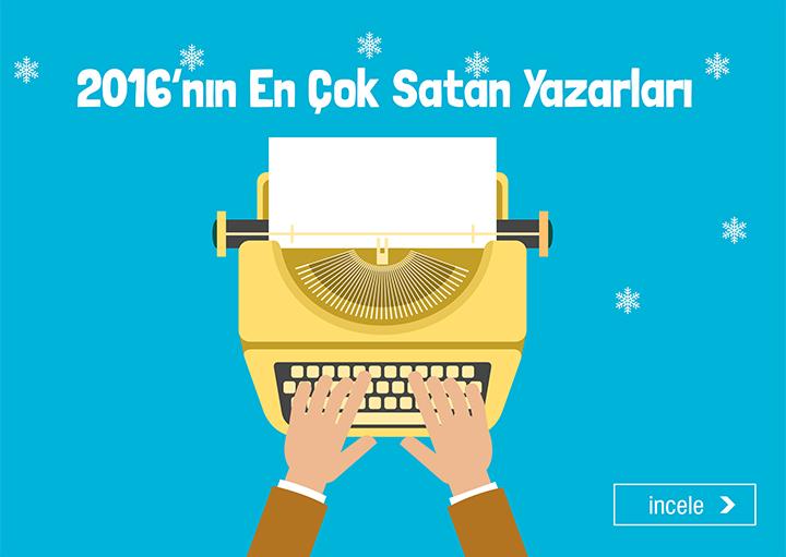 2016'nın En Çok Satan Yazarları