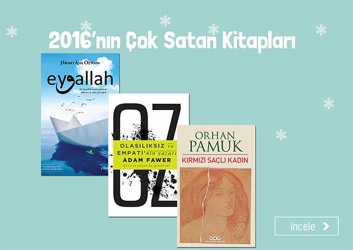 2016'nın Çok Satan Kitapları