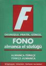 Fono Almanca El Sözlüğü