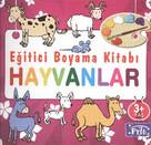 Eğitici Boyama Kitabı-Hayvanlar