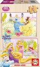 Educa-Puz.2X16 Prensesler 15283