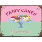 Nostalgic Art Fairy Cakes - Fresh Every Day Magnet 6x8 cm 14188
