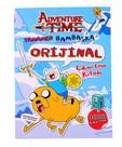 Adventure Time - Tamamen Bambaşka Orijinal Çıkartma Kitabı