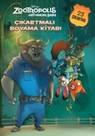 Disney Zootropolis Hayvanlar Çıkartmalı Boyama Kitabı