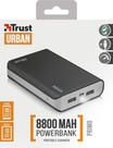 Trust Urban Primo PowerBank 8800 Portable Charger - black 21227