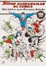 Süper Kahramanlar Dc Comics-Büyükler İçin Boyama Kitabı