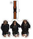 Nektar Valiz Etiketi Maymun