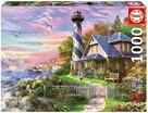 Educa 17740 Lighthouse At Rock Bay 1000 Parça Puzzle