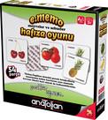 Anatolian-Memo Meyveler ve Sebzeler Hafıza Oyunu 54P.