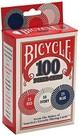 Bicycle-Poker Çipi Plastik 100lü