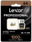 Lexar 64GB microSDXC UHS-II 1000x with Reader (Class 10