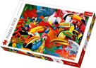 Trefl-Puz.500 Colourful Birds 48x34cm 37328