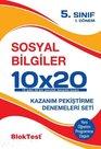 5.Sınıf 1.Dönem Sosyal Bilgiler 10x20 Kazanım Pekiştirme Denemeleri Seti