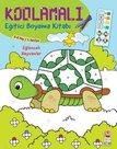 Eğlenceli Hayvanlar 5-6 Yaş-Kodlamalı Eğitici Boyama Kitabı-1.Seviye