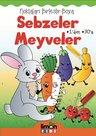 Sebzeler Meyveler-Noktaları Birleştir-Boya