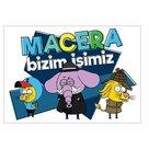 Kral Şakir Duvar Sticker 11 50x70 cm.