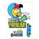Kral Şakir Duvar Sticker 8 50x70 cm.